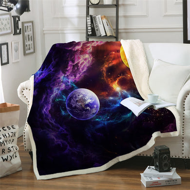 Plan of Salvation by JoJoesArt Sherpa Throw Blanket - 4 sizes