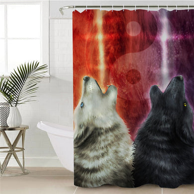 We Wanna Let The World Know by KhaliaArt Shower Curtain