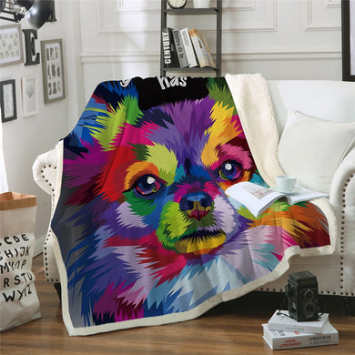 Every Dog Has His Day Sherpa Throw Blanket - 4 sizes