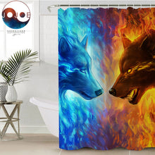 Fire and Ice by JoJoesArt Shower Curtain