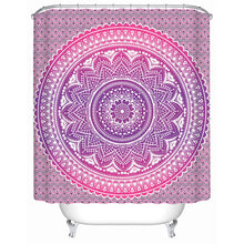 Pink Mandala Shower Curtain