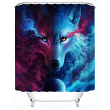 Where Light And Dark Meet by JoJoesArt Shower Curtain