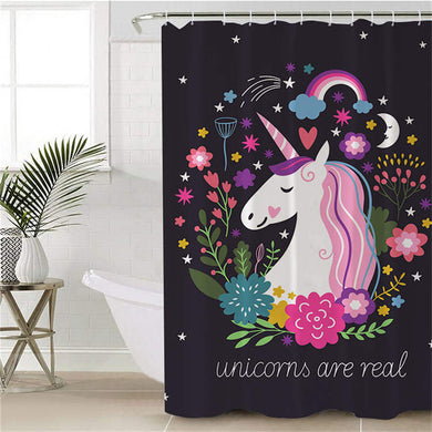 Unicorns Are Real Shower Curtain