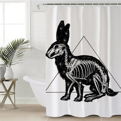 Kanickel by Pixie Cold Art Shower Curtain