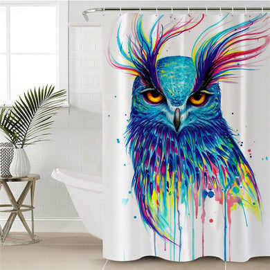 Into the Blue by Pixie Cold Art Shower Curtain