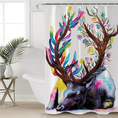 King of the Forest by Pixie Cold Art Shower Curtain