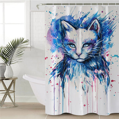 Space by Pixie Cold Art Shower Curtain