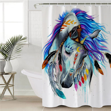 Pferd by Pixie Cold Art Shower Curtain