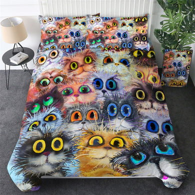 Cats Eyes Doona Cover 2/3pc set
