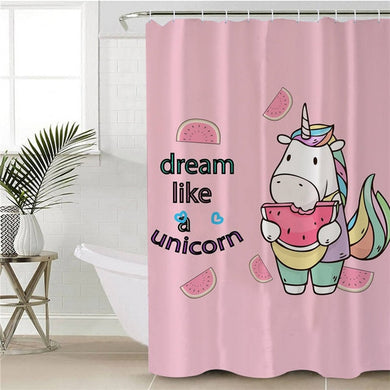 Dream Like A Unicorn Shower Curtain