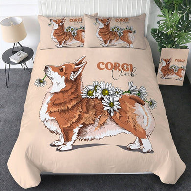 Corgi Club Doona Cover 2/3pc set