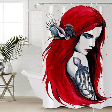 City Ariel by Pixie Cold Art Shower Curtain