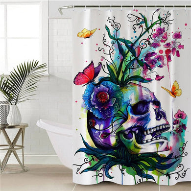 Candid by Pixie Cold Art Shower Curtain