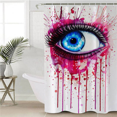 Pink by Pixie Cold Art Shower Curtain