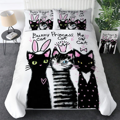 Cat Posse Doona Cover 2/3pc set