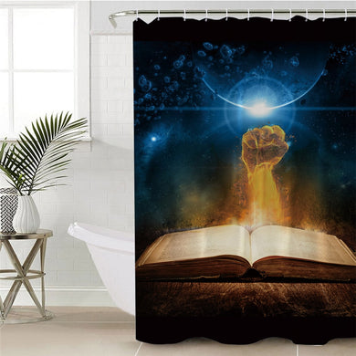 Knowledge Is Power Shower Curtain