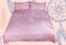 Pink Watercolour Dreamcatcher Doona Cover 3pc set - My Diva Baby