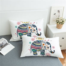 Cute Rainbow Elephant Pillowcase 2pcs - My Diva Baby