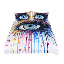 Rainbow Fire by Pixie Cold - Charming Eye Doona Cover 3pc set - My Diva Baby