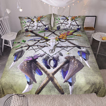 Native American Skull by Sunima-MysteryArt - Tribal Skull Doona Cover 3pc set - 2 Styles - My Diva Baby