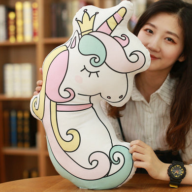Plush Unicorn Pillows - 48cm - 4 Adorable designs - My Diva Baby