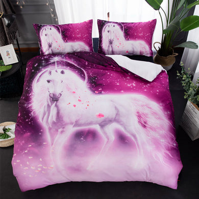 Glowing Unicorn Doona Cover 2/3pc set - My Diva Baby