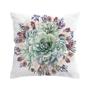 Floral 3D Cushion Cover - My Diva Baby