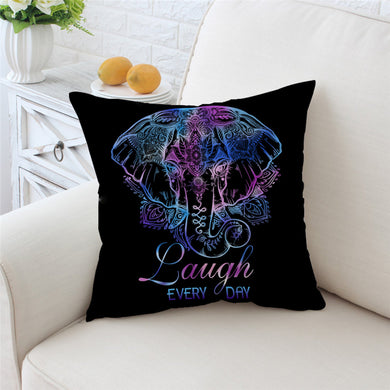 Lotus Elephant Cushion Cover - My Diva Baby