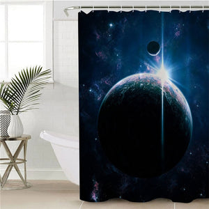 Galaxy Group Shower Curtain - 3 Styles