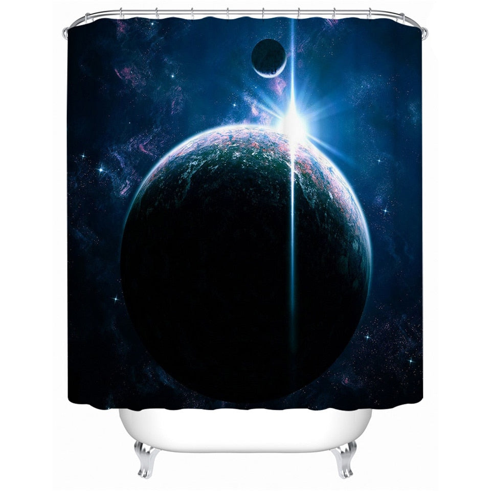 Galaxy Group Shower Curtain - Waterproof - 3 Styles