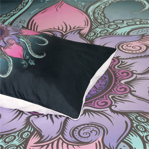 OctoFlower Doona Cover 3Pcs set - My Diva Baby