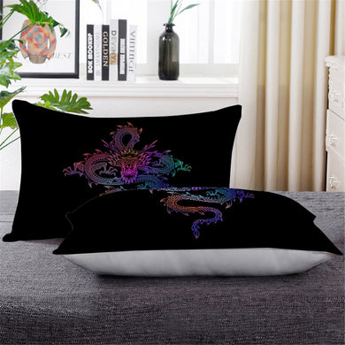 Mythical Chinese Dragon Pillowcase - Down Pillow 1 pc - My Diva Baby