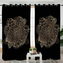 Golden Turtle Curtains - My Diva Baby
