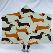 Sausage Dog - Dachshund Hooded Blanket - 2 Sizes - My Diva Baby