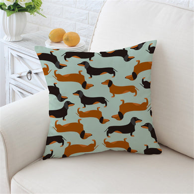 Sausage Dog - Dachshund Cushion Cover - My Diva Baby