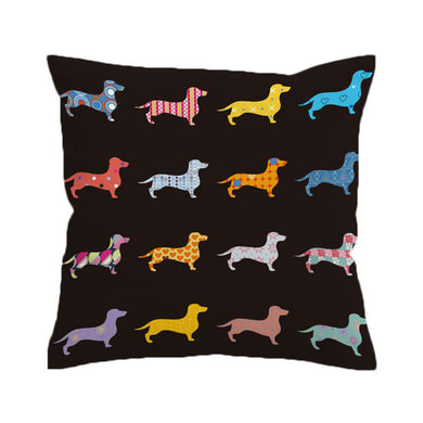 Mini Dachshund Cushion Cover - My Diva Baby