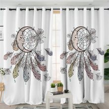 Sleeping Moon Dreamcatcher Curtains - My Diva Baby