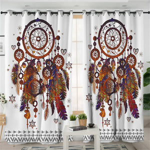 Bohemian Dreamcatcher Curtains - My Diva Baby