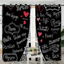 Paris Tower Curtains - My Diva Baby