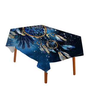 Blue Galaxy Dreamcatcher Tablecloth - Waterproof - My Diva Baby