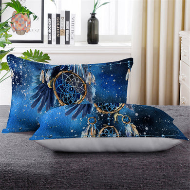 Blue Galaxy Dreamcatcher Pillowcase - Down Pillow 1pc - My Diva Baby