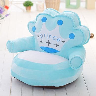 Plush Crown Kids Mini Chair - My Diva Baby