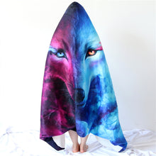 Where Light And Dark Meet by JoJoesArt Hooded Blanket - 2 sizes - My Diva Baby