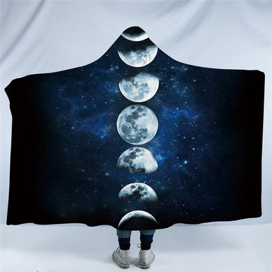 Moon Eclipse Hooded Blanket - 2 size - My Diva Baby