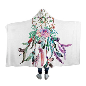 Feathery Dreamcatcher Hooded Blanket - 2 sizes - My Diva Baby