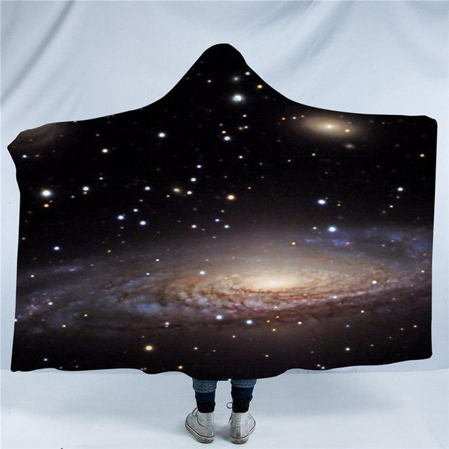 Galaxy Hooded Blanket - 2 sizes - My Diva Baby
