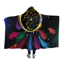 Feathered Sleeping Moon Dreamcatcher Hooded Blanket - 2 sizes - My Diva Baby