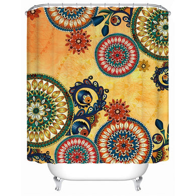 Kaleidoscope Shower Curtain - Waterproof