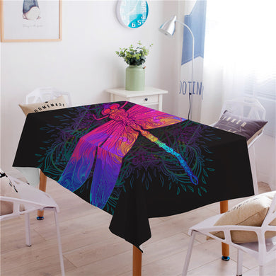Dragonfly Mandala Tablecloth - Waterproof - My Diva Baby