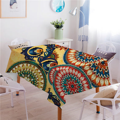 Kaleidoscope Tablecloth - Waterproof